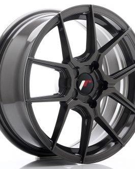 JR Wheels JR30 17×7 ET20-40 5H BLANK Hyper Gray