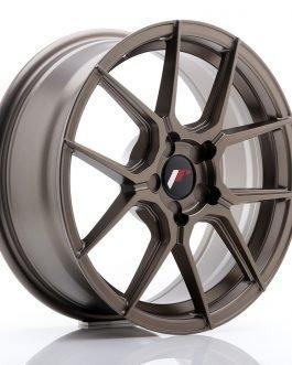 JR Wheels JR30 17×7 ET20-40 5H BLANK Matt Bronze