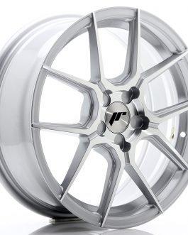 JR Wheels JR30 17×7 ET20-40 5H BLANK Silver Machined Face