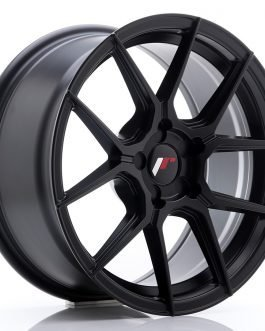 JR Wheels JR30 17×8 ET20-40 5H BLANK Matt Black