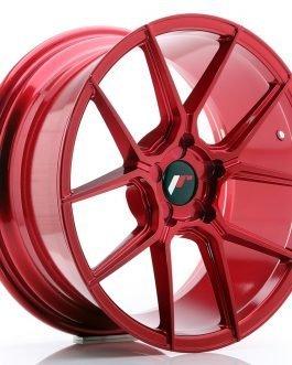 JR Wheels JR30 18×8,5 ET20-40 5H BLANK Platinum Red