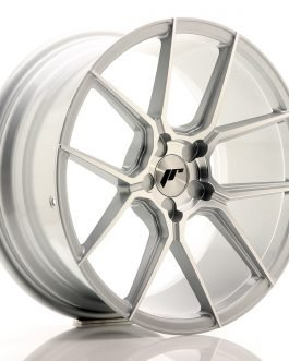 JR Wheels JR30 18×8,5 ET40 5H BLANK Silver Machined Face