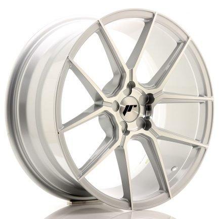 JAPAN RACING JR Wheels JR30 19x8,5 ET20-42 5H BLANK Silver Machined Face 8.50x19