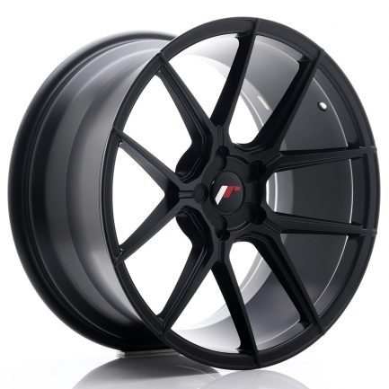 JAPAN RACING JR Wheels JR30 19x9,5 ET20-40 5H BLANK Matt Black 9.50x19