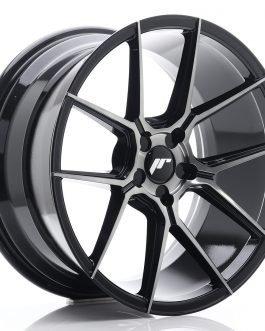 JR Wheels JR30 19×9,5 ET20-40 5H BLANK Black Brushed w/Tinted Face