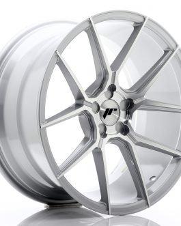JR Wheels JR30 19×9,5 ET35-40 5H BLANK Silver Machined Face