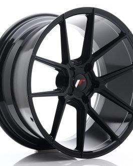 JR Wheels JR30 20×10 ET20-40 5H BLANK Glossy Black