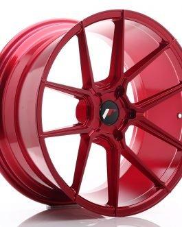 JR Wheels JR30 20×10 ET20-40 5H BLANK Platinum Red