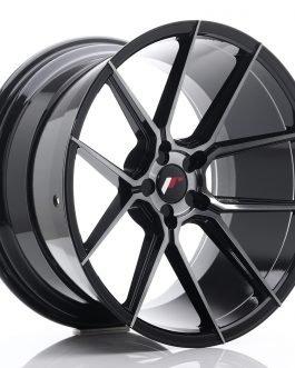 JR Wheels JR30 20×11 ET20-30 5H BLANK Black Brushed w/Tinted Face