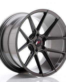 JR Wheels JR30 20×11 ET20-30 5H BLANK Hyper Gray