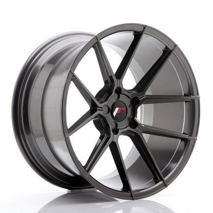 JAPAN RACING JR Wheels JR30 20x11 ET20-30 5H BLANK Hyper Gray 11.00x20