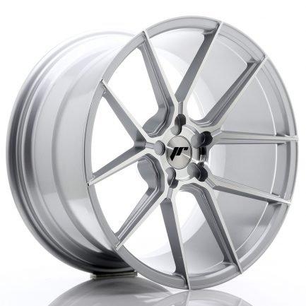 JAPAN RACING JR Wheels JR30 20x11 ET30-50 5H BLANK Silver Machined Face 11.00x20
