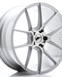 JR Wheels JR30 20×8,5 ET35 5×120 Silver Machined Face