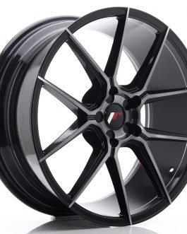 JR Wheels JR30 20×8,5 ET20-42 5H BLANK Black Brushed w/Tinted Face