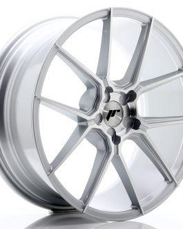 JR Wheels JR30 20×8,5 ET20-40 5H BLANK Silver Machined Face