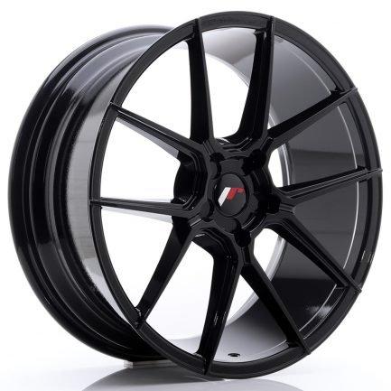 JAPAN RACING JR Wheels JR30 20x8,5 ET40-42 5H BLANK Glossy Black 8.50x20