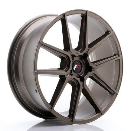 JAPAN RACING JR Wheels JR30 21x9 ET20-40 5H BLANK Matt Bronze 9.00x21