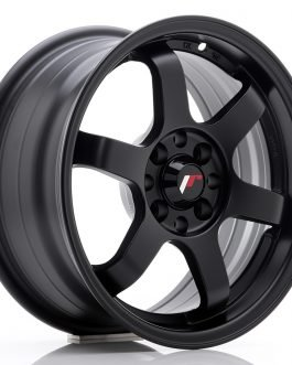 JR Wheels JR3 15×7 ET40 4×100/114 Matt Black