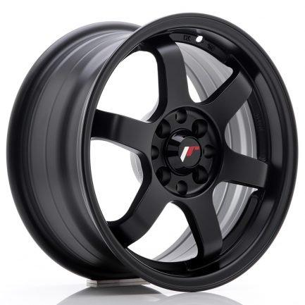 JAPAN RACING JR Wheels JR3 15x7 ET40 4x100/114 Matt Black 7.00x15