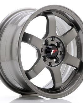 JR Wheels JR3 15×7 ET40 4×100/114 Gun Metal
