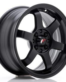 JR Wheels JR3 15×7 ET25 4×100/108 Matt Black