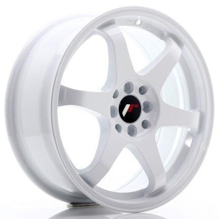 JAPAN RACING JR Wheels JR3 17x7 ET40 4x100/114 White 7.00x17