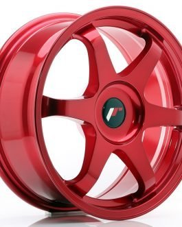 JR Wheels JR3 17×7 ET20-42 BLANK Platinum Red