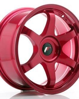 JR Wheels JR3 17×8 ET35 BLANK Platinum Red