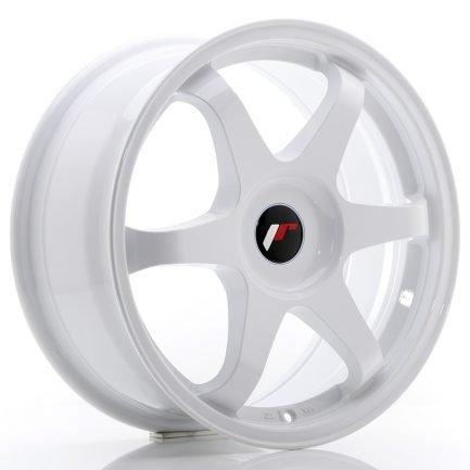 JAPAN RACING JR Wheels JR3 17x8 ET35 BLANK White 8.00x17