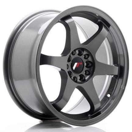 JAPAN RACING JR Wheels JR3 17x8 ET35 5x108/112 Gun Metal 8.00x17