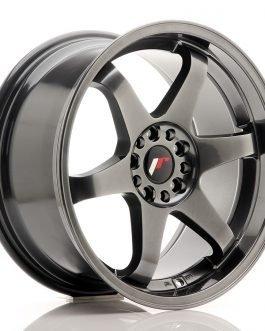 JR Wheels JR3 18×9 ET40 5×112/114 Dark Hyper Black