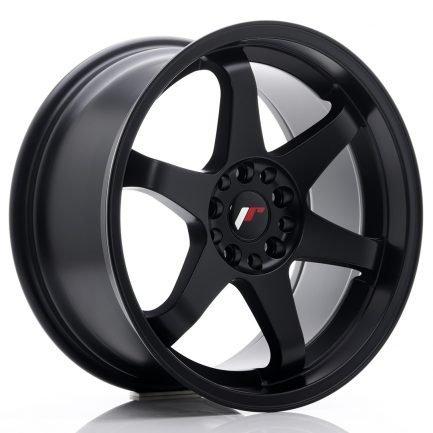 JAPAN RACING JR Wheels JR3 18x9 ET40 5x100/108 Matt Black 9.00x18
