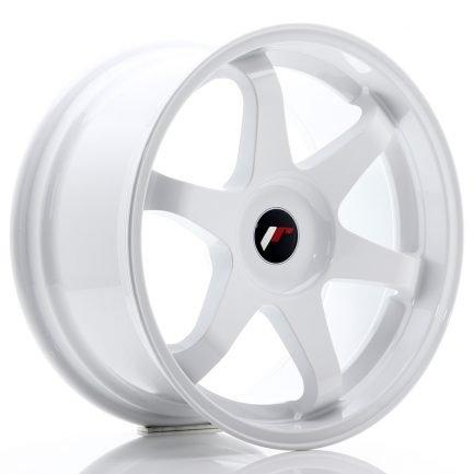 JAPAN RACING JR Wheels JR3 18x9 ET20-40 BLANK White 9.00x18
