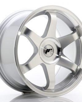 JR Wheels JR3 18×9 ET35-40 BLANK Silver Machined Face