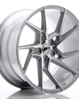 JR Wheels JR33 20×10,5 ET15-30 5H BLANK Silver Machined Face