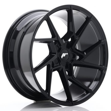 JAPAN RACING JR Wheels JR33 20x10 ET20-40 5H BLANK Gloss Black 10.00x20