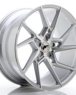 JR Wheels JR33 20×10 ET20-40 5H BLANK Silver Machined Face