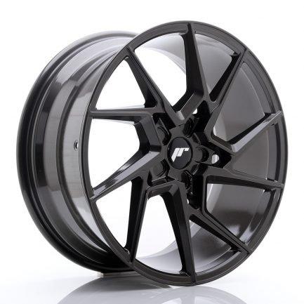 JAPAN RACING JR Wheels JR33 20x9 ET20-48 5H BLANK Hyper Gray 9.00x20