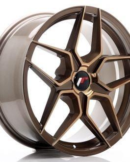 JR Wheels JR34 18×8 ET20-42 5H BLANK Platinum Bronze