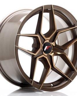 JR Wheels JR34 18×9 ET20-42 5H BLANK Platinum Bronze