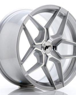 JR Wheels JR34 18×9 ET20-42 5H BLANK Silver Machined Face