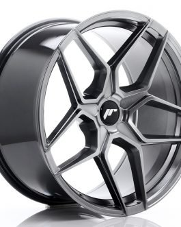 JR Wheels JR34 20×10 ET20-40 5H BLANK Hyper Black