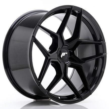 JAPAN RACING JR Wheels JR34 20x10 ET40 5H BLANK Gloss Black 10.00x20