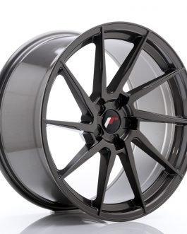 JR Wheels JR36 20×10 ET20-45 5H BLANK Hyper Gray