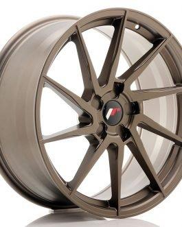 JR Wheels JR36 20×9 ET15-38 5H BLANK Matt Bronze