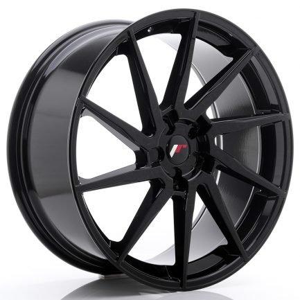 JAPAN RACING JR Wheels JR36 23x10 ET30-55 5H BLANK Gloss Black 10.00x23