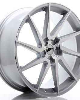 JR Wheels JR36 23×10 ET30-55 5H BLANK Silver Brushed Face
