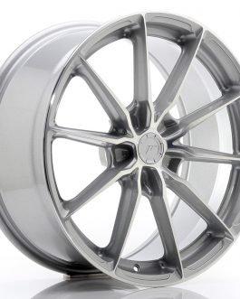 JR Wheels JR37 19×8,5 ET20-45 5H BLANK Silver Machined Face