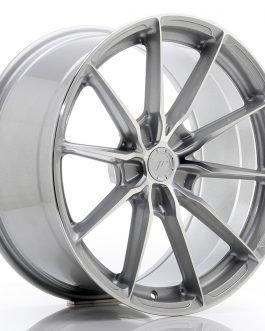 JR Wheels JR37 19×9,5 ET20-45 5H BLANK Silver Machined Face