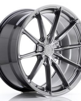 JR Wheels JR37 20×10 ET20-45 5H BLANK Hyper Black